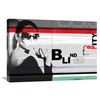 Naxart Studio 'Blinded From Reality' Stretched Canvas Wall Art