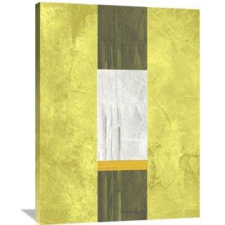 Naxart Studio 'Yellow Mist 2' Stretched Canvas Wall Art