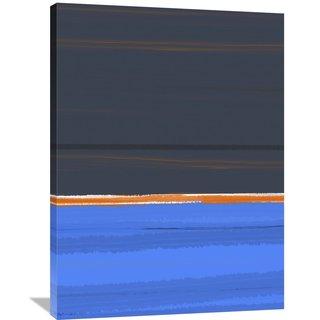 Naxart Studio 'Stripe Orange' Stretched Canvas Wall Art