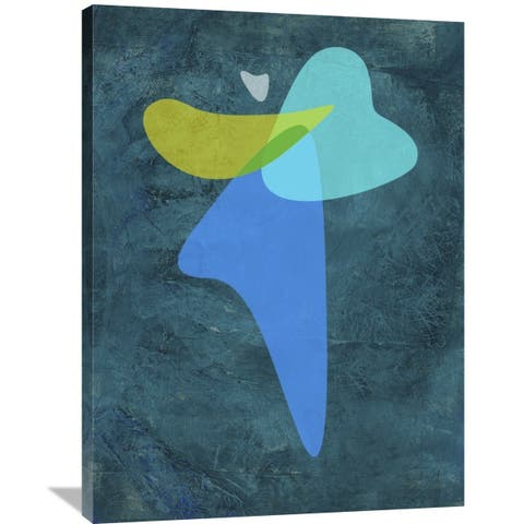 Naxart Studio 'Shapes 3' Stretched Canvas Wall Art