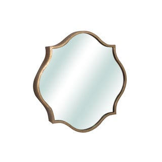 Jeco Sabratha Wall Mirror with Antique Bronze Metal Frame