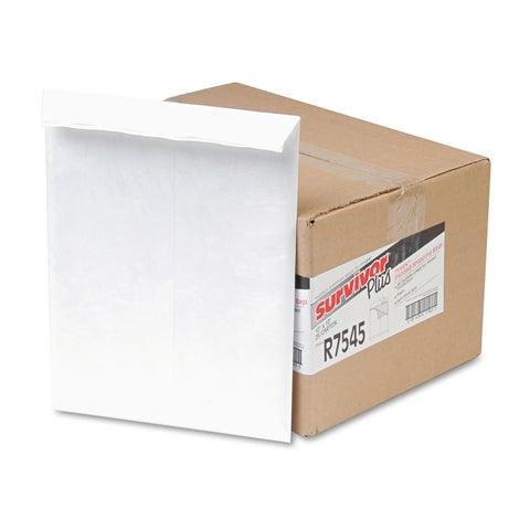 Survivor DuPont Tyvek Air Bubble Mailer Self-Seal Side Seam 10 x 13 White 25/Box