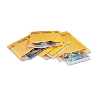 Sealed Air Jiffylite Self-Seal Mailer Contemporary Seam 4 x 8 Golden Yellow