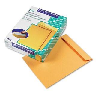 Quality Park Catalog Envelope 10 x 13 Brown Kraft 100/Box