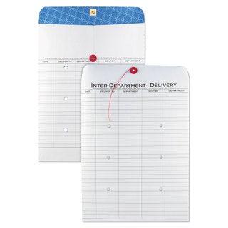 Quality Park White Kraft Interoffice Envelope 10 x 13 100/Box
