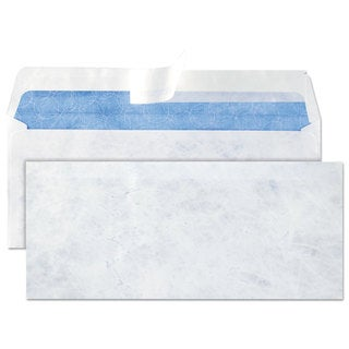 Quality Park DuPont Tyvek Lightweight Security Envelope #10 White 100/Box