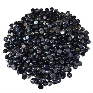 Oakland Living Corporation Black Glass Beads for Burners in Charcoal