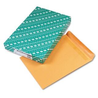 Quality Park Redi-Seal Catalog Envelope 12 x 15 1/2 Brown Kraft 100/Box