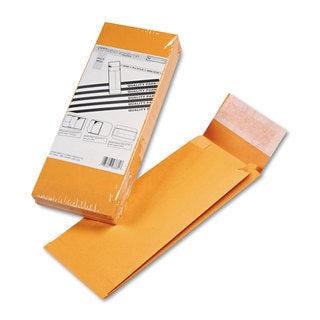 Quality Park Redi-Strip Kraft Expansion Envelope Side Seam 5 x 11 x 2 Brown 25/Pack