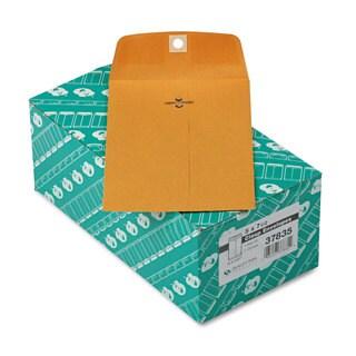 Quality Park Clasp Envelope 5 x 7 1/2 28-pound Brown Kraft 100/Box