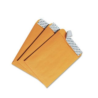 Quality Park Redi-Strip Catalog Envelope 6 x 9 Brown Kraft 100/Box