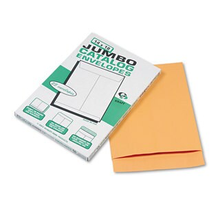 Quality Park Jumbo Size Kraft Envelope 14 x 18 Brown Kraft 25/Pack