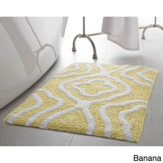 Jean Pierre Reversible Cotton Giri 2-Piece Bath Mat Set