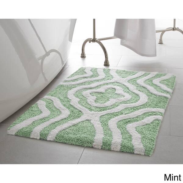 Jean Pierre Reversible Cotton Giri 2 Piece Bath Mat Set