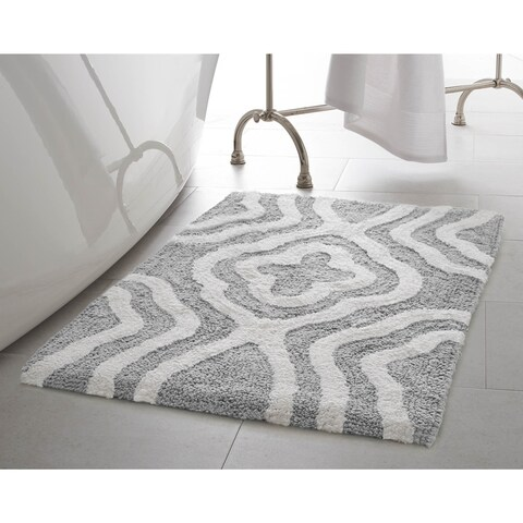 Jean Pierre Reversible Cotton Giri 2-Piece Bath Mat Set