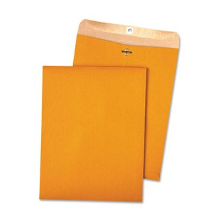 Quality Park 100-percent Recycled Brown Kraft Clasp Envelope 10 x 13 Brown Kraft 100/Box