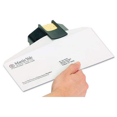 Premier Aquapad Envelope Moisture Dispenser 3 3/4-inch x 3 3/4-inch x 2 1/4-inch Black
