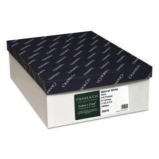 Neenah Paper Crane's Crest 100-percent Cotton Envelope 10 Natural White 500/Box