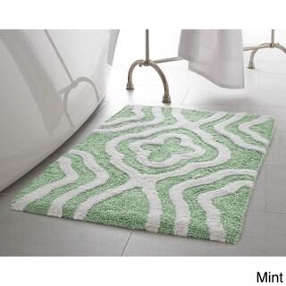 Jean Pierre Reversible Cotton Giri 21 x 34 in. Bath Mat