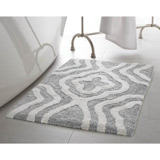 Jean Pierre Reversible Cotton Giri 21 x 34 in. Bath Mat