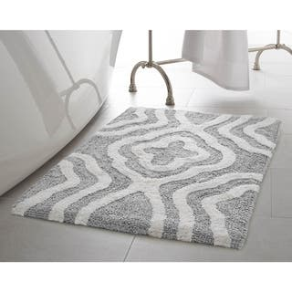 Jean Pierre Reversible Cotton Giri 21 X 34 In Bath Mat
