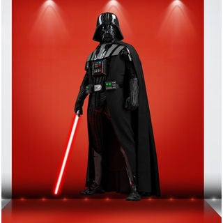Darth Vader Full Color Decal, Full color sticker, colored Star Wars Sticker Decal size 22x35