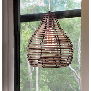 Design Craft Hollis 1-light Natural Reed Mini Pendant https://ak1.ostkcdn.com/images/products/13995547/P20619136.jpg?impolicy=medium