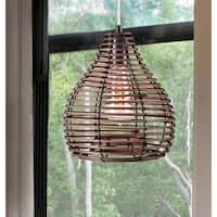 Hollis 1-light Natural Reed Mini Pendant