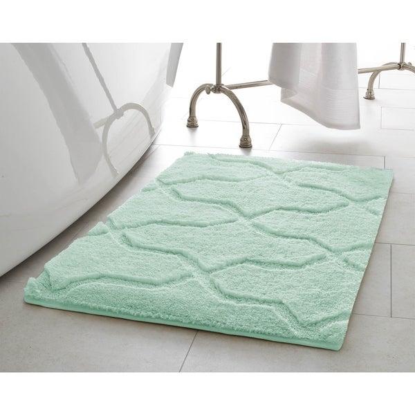 Jean Pierre Pearl Drona 2-Piece Bath Mat Set