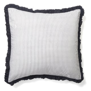 Black Ticking Sham