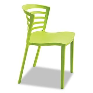 Safco Entourage Stack Chair Grass 4 per Carton