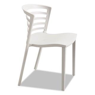 Safco Entourage Stack Chair Grey 4 per Carton