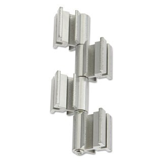 Safco Rumba Whiteboard Screen Accessories Ganging Connector Set Silver