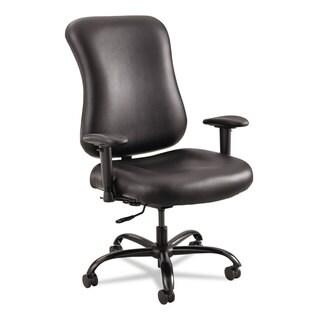 Safco Optimus High Back Big & Tall Chair 400-lb. Capacity Black Leather