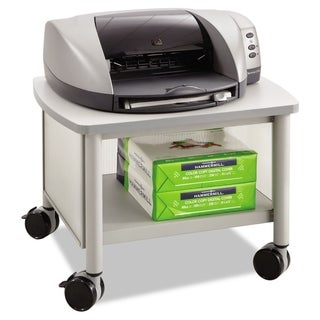 Safco Impromptu Under Table Printer Stand 20-1/2-inch wide x 16-1/2-inch deep x 14-1/2h Grey