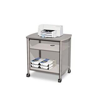 Safco Impromptu Machine Stand One-Shelf 26-1/4-inch wide x 21-inch deep x 26-1/2h Grey