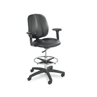 Safco Height-Adjustable T-Pad Arms for Apprentice Series Chairs Black Pair