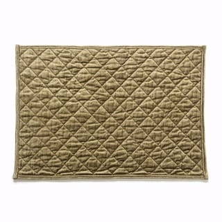 Cotton Home Estrella Diamond Quilted Placemat (Set of 4)