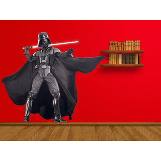 Darth Vader Full Color Decal, Full color sticker, colored Star Wars Sticker Deckal size 44x52