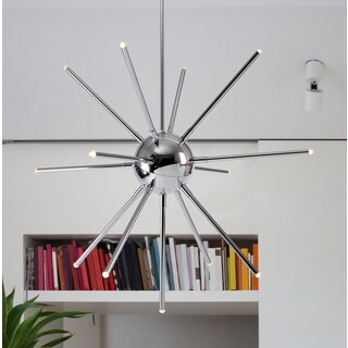 Design Craft Electron 13-light LED Chandelier
