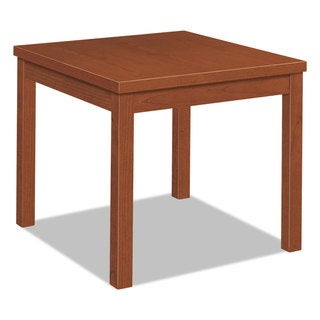 HON Laminate Occasional Table Square 24-inch wide x 24-inch deep x 20-inch high Cognac