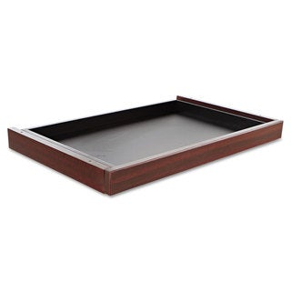Alera Valencia Series Center Drawer 24 1/2-inch wide x 15-inch deep x 2-inch high Mahogany
