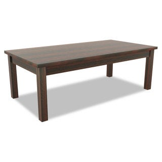Alera Valencia Series Occasional Table Rectangle 47-1/4 x 20 x 16 3/8 Mahogany