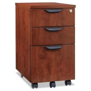 Alera Valencia Mobile Box/Box/File Pedestal File 15 7/8 x 20 1/2 x 28 3/8 Med Cherry