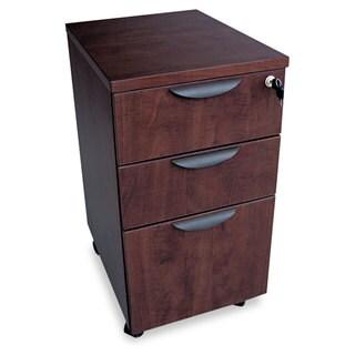 Alera Valencia Mobile Box/Box/File Pedestal File 15 7/8-inch wide x 20 1/2-inch deep x 28 3/8h Mahogany