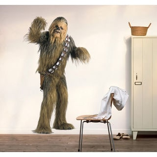 Chewbacca Full Color Decal, Full color sticker, colored Star Wars Sticker Decal size 33x52