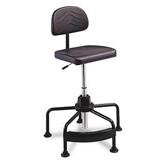 Safco TaskMaster Series EconoMahogany Industrial Chair Black