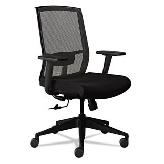 Mayline Gist Task Chair Black/Silver