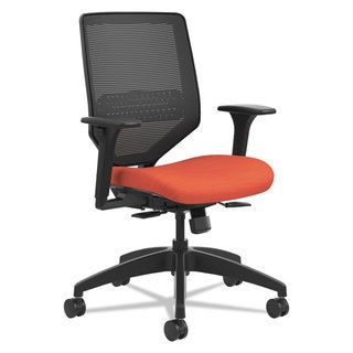HON Solve Series Mesh Back Task Chair Bittersweet
