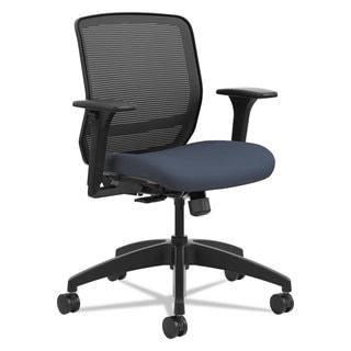 HON Quotient Series Mesh Mid-Back Task Chair Cerulean